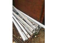 FENCE POSTS 9ft plastic £12 each