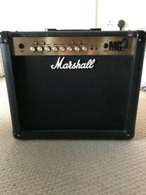 Marshall MG30FX Electric Guitar Amplifier & Marshall MG Foot Controller