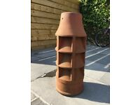 Louvered Terracotta Chimney Pot