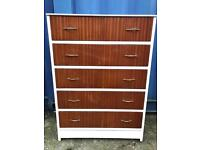Vintage chest of drawers FREE DELIVERY PLYMOUTH AREA