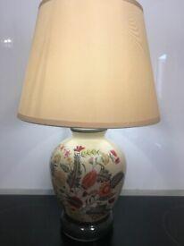 Battery lamp & shade