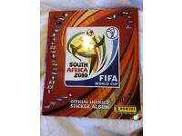 Panini sticker book World Cup 2010 Fully completed