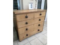 Antique Pine Chest if Drawers
