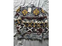 Boys Zara Christmas Knit Wear Jumper - Size 8yrs