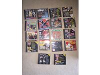 Collection of Guitar CDs and Magazines
