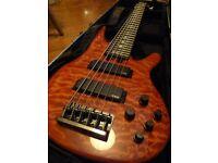 Yamaha TRB1006J six string electric bass guitar