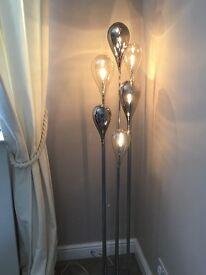 Next - tall glass lamp