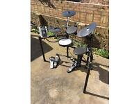 Roland TD9 Electronic Drum Kit & DW3000 Double Bass Pedal