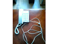 BT Converse 2100 corded home or office telephone with instruction booklet.