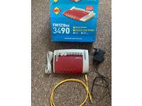 FRITZBOX!3490 Router - DSL/VDSL - Wireless AC