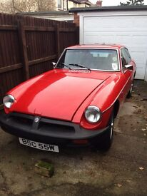 MGB GT, New MOT with no advisories