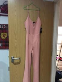 Pinky jumpsuit with tags
