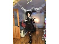 Edwina scissorhands costume and wig