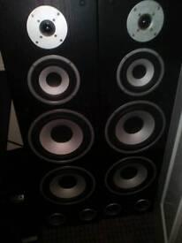 Baird ti 400 floor standing speakers £30 on ebay £100