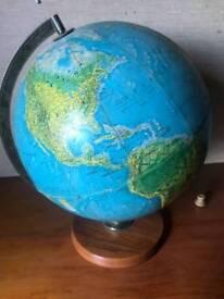 Beautiful classic rotating globe
