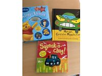Toddler books with Disney song's CD