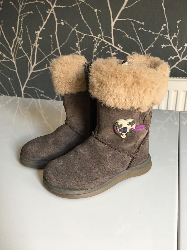Clarkes Girls Boots