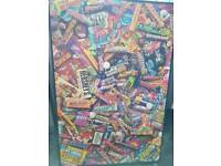 AMERICAN CANDY SWEETS LARGE BOX FRAME PICTURE SIZE