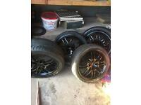 """17"""" 4 stud alloys REDUCED TO CLEAR"""