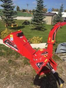 "**GET a FREE set of Knives with this NEW 3 Point Hitch 5"" Wood Chipper **different colors instock**"