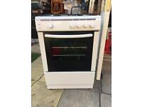 Bush AG66SW Gas Cooker.... Only had a Years use.. ** DELIVERY AVAILABLE **