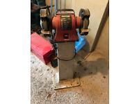Bench grinder, Rexon, with Grimston stand