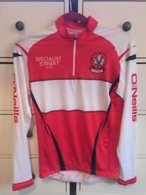 * PRICE DROP * Derry top CYCLING jersey GAA style Gaelic football