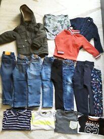 Bundle of boys designer clothes 3-4 year
