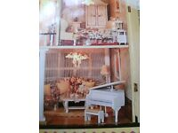 Brand new!!! Beautiful wooden dolls house