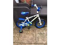 POLICE 👮♀️BIKE WITH STABILISERS AND BELL, good condition