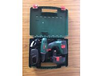 Bosch PSR 18 Cordless Drill/Driver with extra drill bits