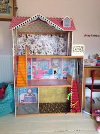 ***SOLD*** Barbie/Sindy sized dolls house
