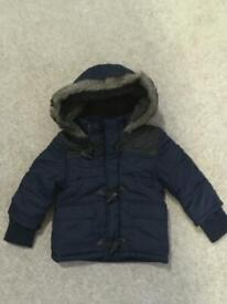 Quilted Coat 6-9 months