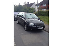 2007 (07 Reg) Chrysler Grand Voyager EXEC CRD 2.8cc Diesel - 5 Door MPV 7 Seater Black