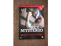 Rey Mysterio Official Book & DVD Collection Man Behind The Mask