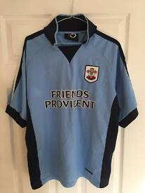 Retro saints blue away shirt- 04/06 - Large