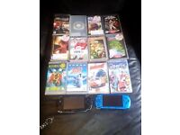 2 psps for sale comes with 12 games and charger