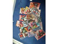 23 assorted comics // dc // marvel//star wars//collection only//£30