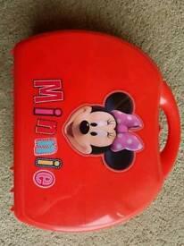 Minnie Mouse kitchen tea set