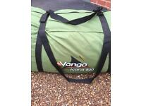 Vango Icarus 500 5 man camping tent as new