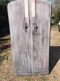 Stunning French style wardrobe shabby rustic chic / Luxe