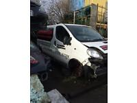 Renault traffic 1.9 dci ( breaking full vehicle for parts)
