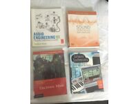Music Production Books- Various