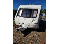 Abbey Freestyle 2005 tourer (4 birth, fixed double and 2 singles in front or converted to a double)