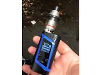 Smok Alien 220w + smok tfv12 + 3x tfv12 t12 coils