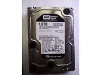 Western Digital Black WD1001FAES-75W7A0 1TB SATA Hard Drive