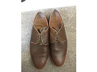 Peter Werth brown smart shoes size 9