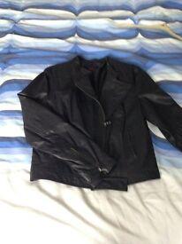 Coleen Leather jacket