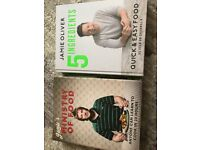 2 Jamie Oliver cookbooks
