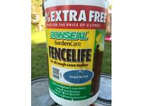 Ronseal fence life 18 litres
